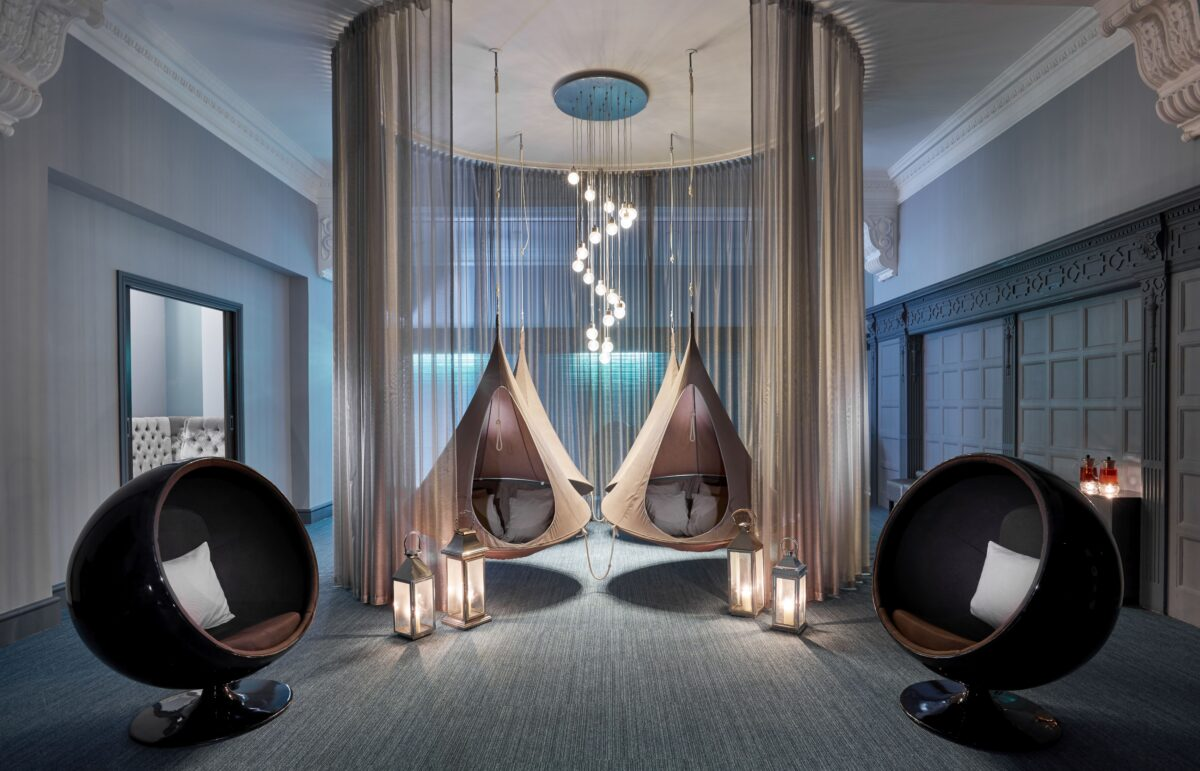 The Relaxation Room at The Rena Spa is the perfect place to 'hang out'